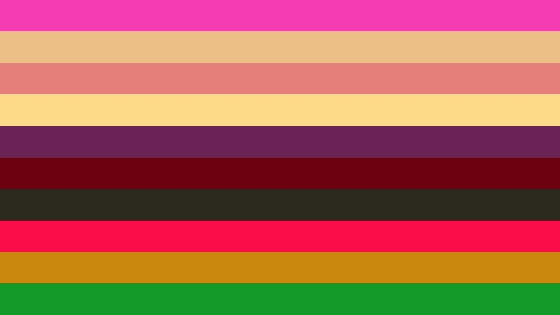Colorful Stripes Background Illustrator