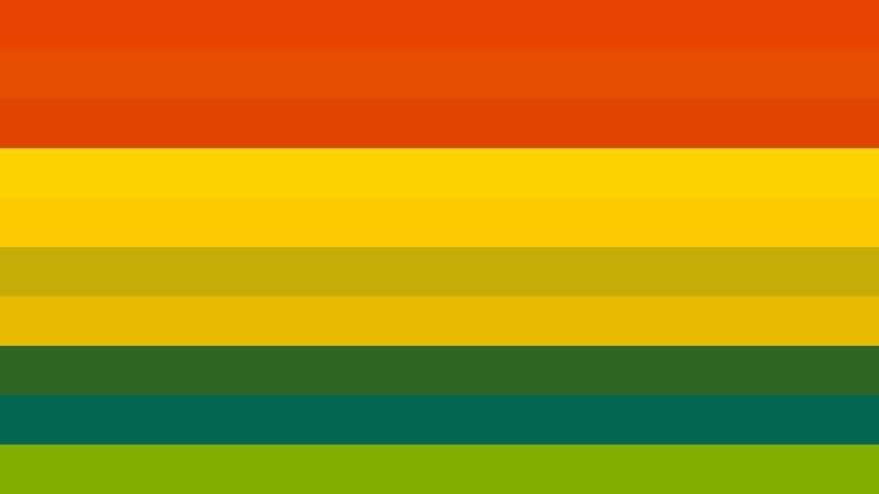 Colorful Stripes Background Design