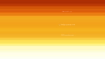 Orange and Yellow Horizontal Stripes Background Vector Illustration