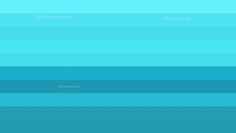 Cyan Stripes Background Vector Graphic