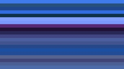 Dark Blue Horizontal Striped Background Vector Art