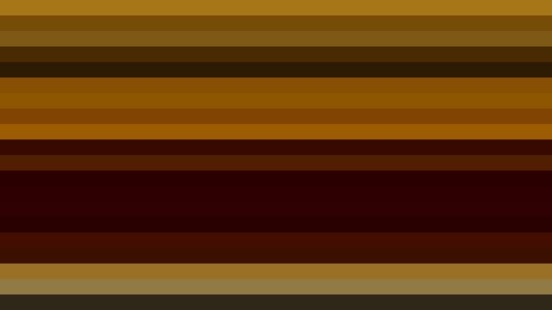 Dark Brown Horizontal Striped Background Vector Graphic