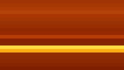 Dark Orange Horizontal Striped Background Vector Image