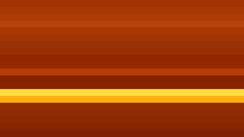 Dark Orange Horizontal Striped Background Vector Image