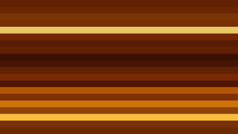 Dark Orange Horizontal Striped Background