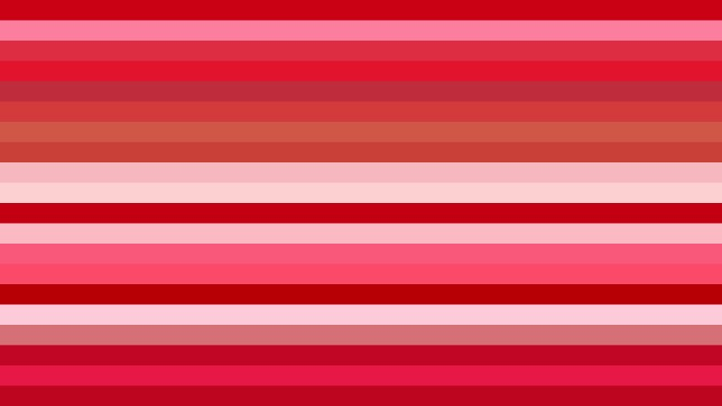 Folly Pink Horizontal Striped Background