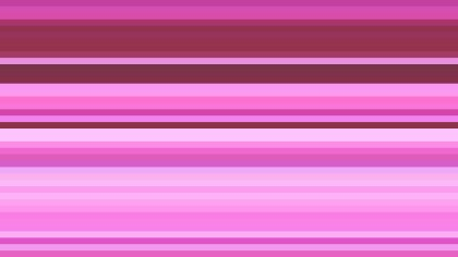 Fuchsia Horizontal Stripes Background Vector Art