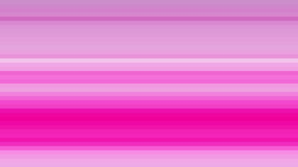 Fuchsia Horizontal Stripes Background