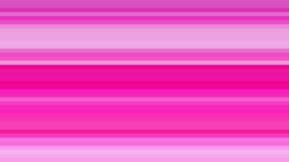 Fuchsia Horizontal Stripes Background Illustration