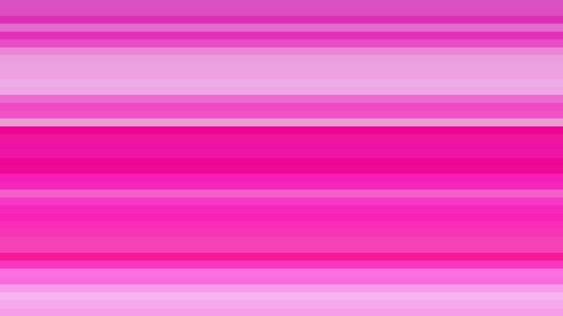Fuchsia Horizontal Stripes Background Illustration
