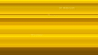 Gold Horizontal Stripes Background Vector Graphic