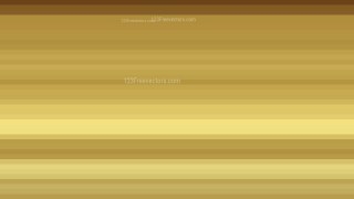 Gold Horizontal Stripes Background