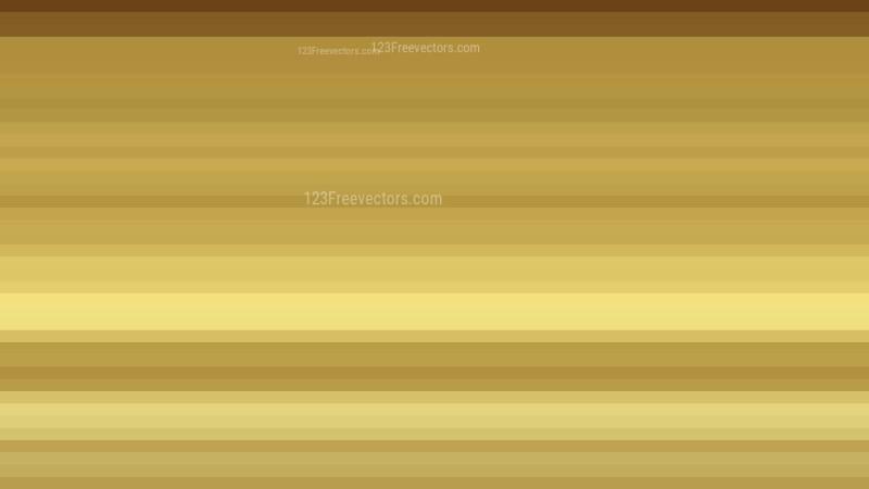 Gold Horizontal Stripes Background
