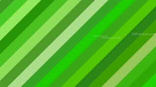 Green Diagonal Stripes Background Vector Image