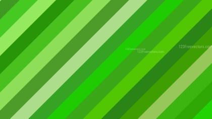 Green Diagonal Stripes Background Vector Image