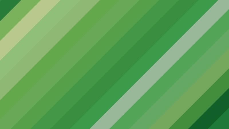 Green Diagonal Stripes Background