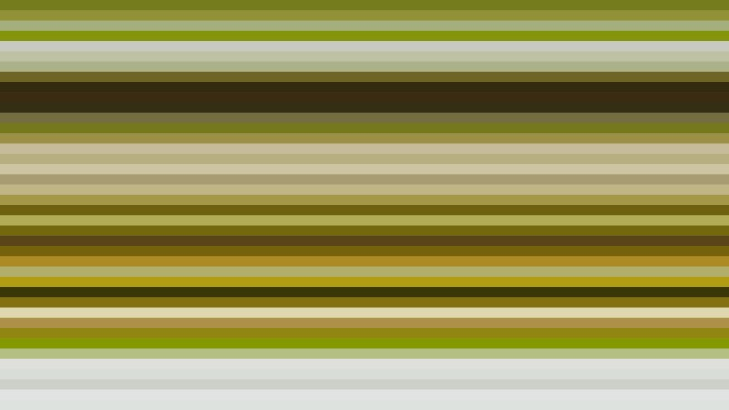 Green Horizontal Stripes Background