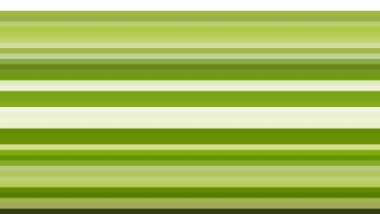 Green Horizontal Stripes Background Design