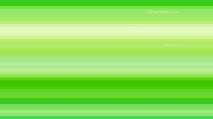 Green Horizontal Stripes Background