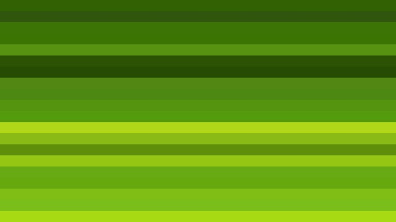 Green Horizontal Striped Background