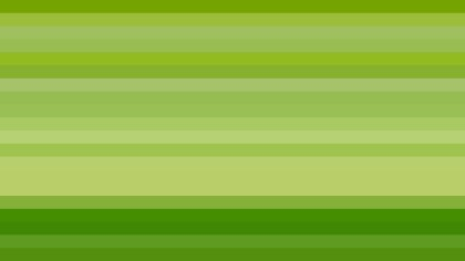 Green Horizontal Striped Background Vector Illustration