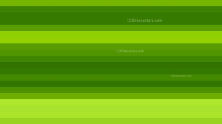 Green Horizontal Striped Background Vector