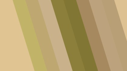 Green and Beige Diagonal Stripes Background Vector Illustration