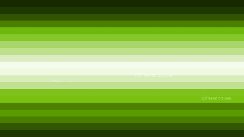 Green and Black Horizontal Striped Background Vector