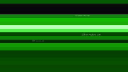 Cool Green Horizontal Striped Background
