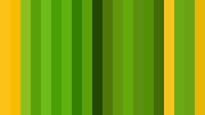 Green and Yellow Striped background Illustrator