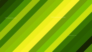 Green and Yellow Diagonal Stripes Background