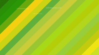 Green and Yellow Diagonal Stripes Background Design