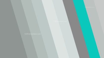 Grey and Turquoise Diagonal Stripes Background Design
