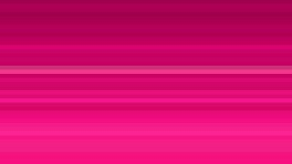 Hot Pink Horizontal Stripes Background Vector Illustration