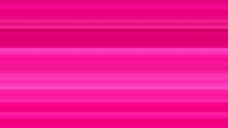 Hot Pink Horizontal Stripes Background Vector