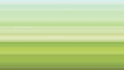 Light Green Horizontal Stripes Background Vector Image