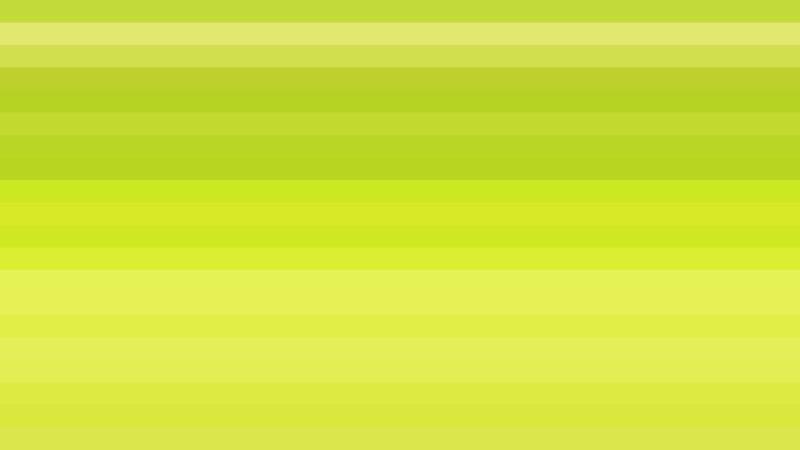 Lime Green Horizontal Striped Background Vector Art