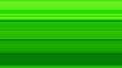Neon Green Horizontal Stripes Background Vector