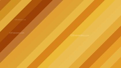 Orange Diagonal Stripes Background