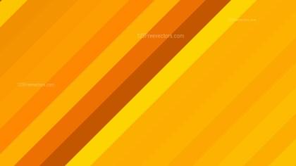 Orange Diagonal Stripes Background Design