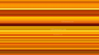Orange Horizontal Stripes Background Vector Image