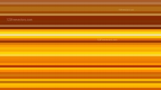 Orange Horizontal Stripes Background Illustrator