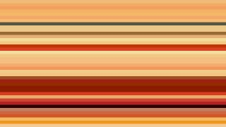 Orange Horizontal Stripes Background Vector