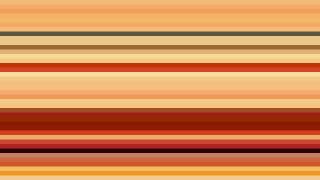 Orange Horizontal Stripes Background Vector