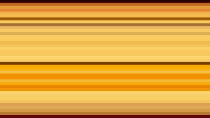 Orange Horizontal Stripes Background