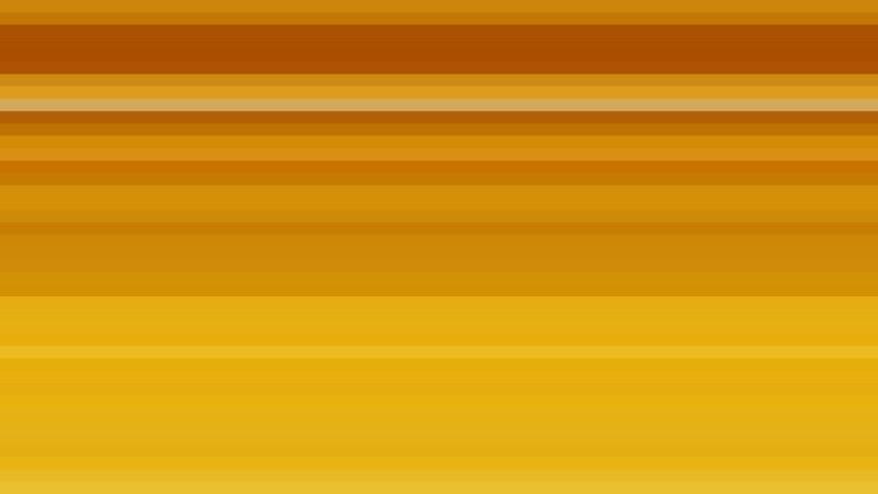 Orange Horizontal Stripes Background Illustration