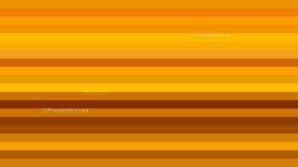 Orange Horizontal Striped Background Design