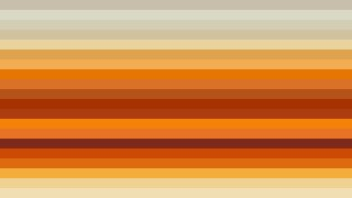 Orange Horizontal Striped Background