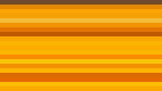 Orange Horizontal Striped Background Vector Graphic