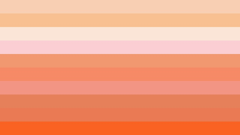 Orange Stripes Background Vector Graphic